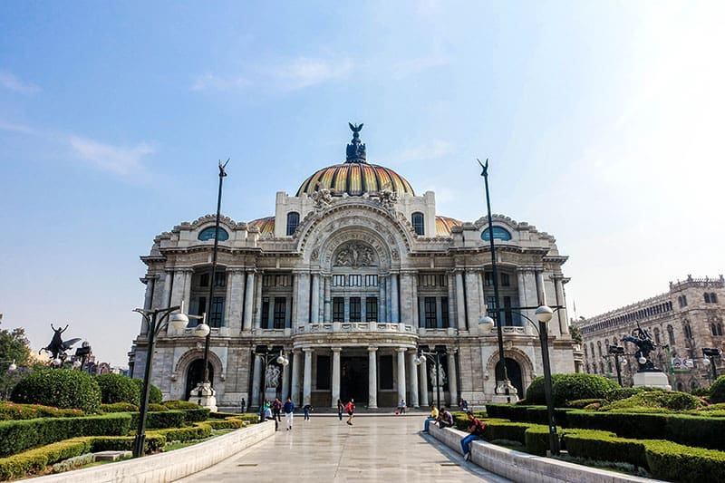 Mexico City is a top destination in mexico