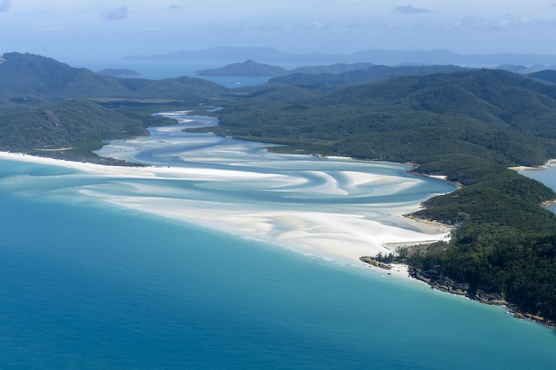 what to see in australia whitsundays
