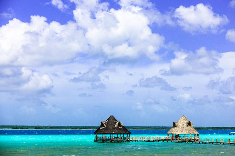 Visit beautiful Bacalar Mexico