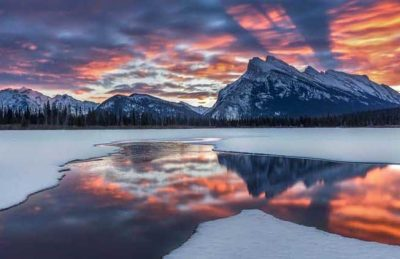 beautiful places to visit in alberta | vermilion lakes
