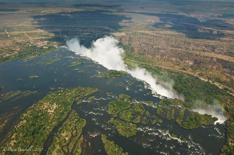great places in africa victoria falls