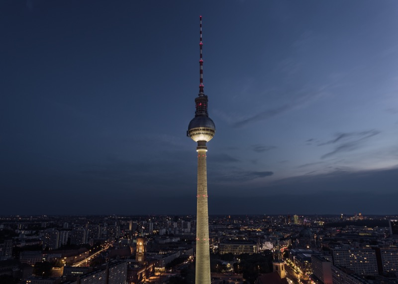 best places to visit in berlin TV Tower at Alexanderplatz