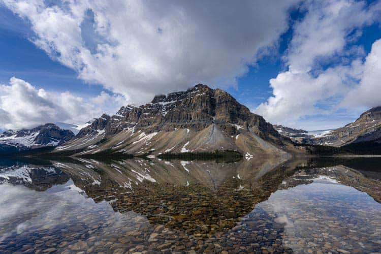 places to visit in canada | bow lake