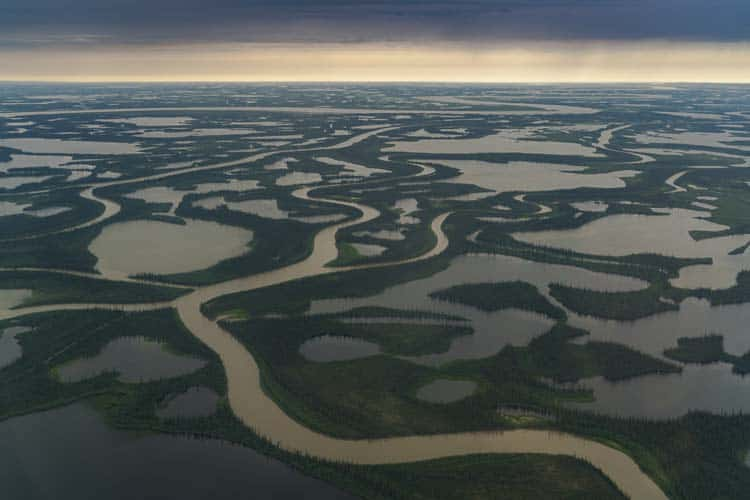 places to visit in canada | mackenzie river delta