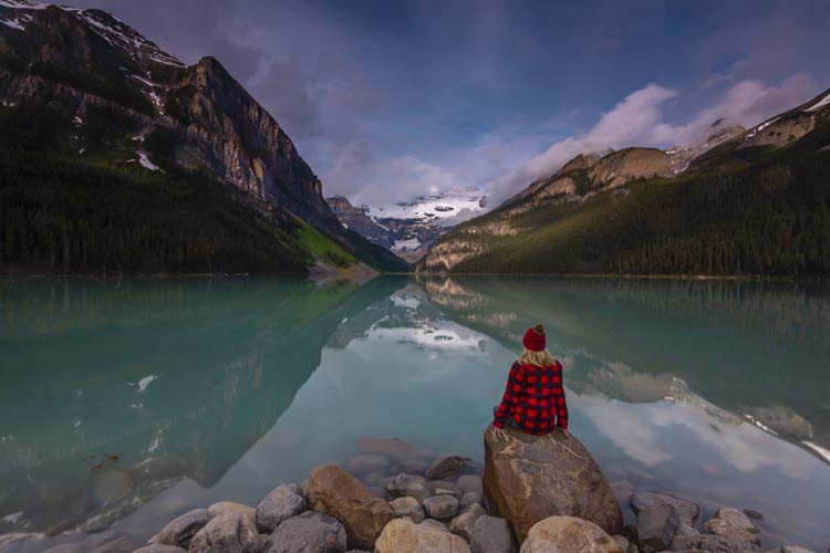 places to visit in canada | lake louise