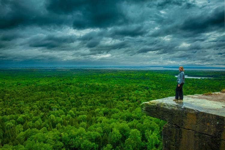 must visit places in Canada | manitoulin island.