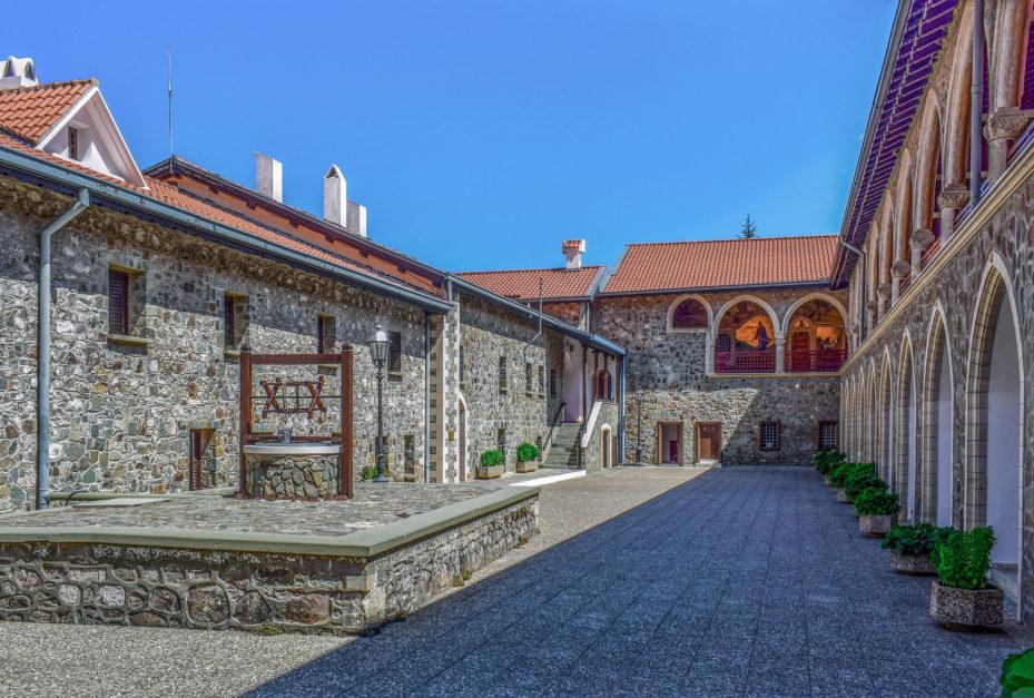 best places in cyprus kykkos Monastery