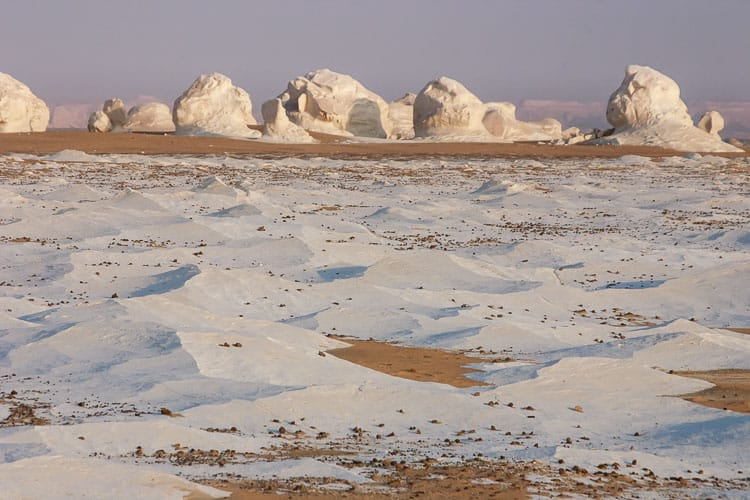 places to visit in egypt -white desert