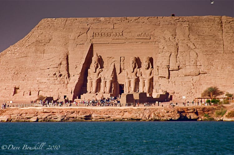 places in ancient egypt | abu simbel