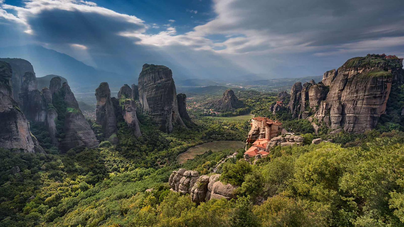 best places to visit in europe meteora