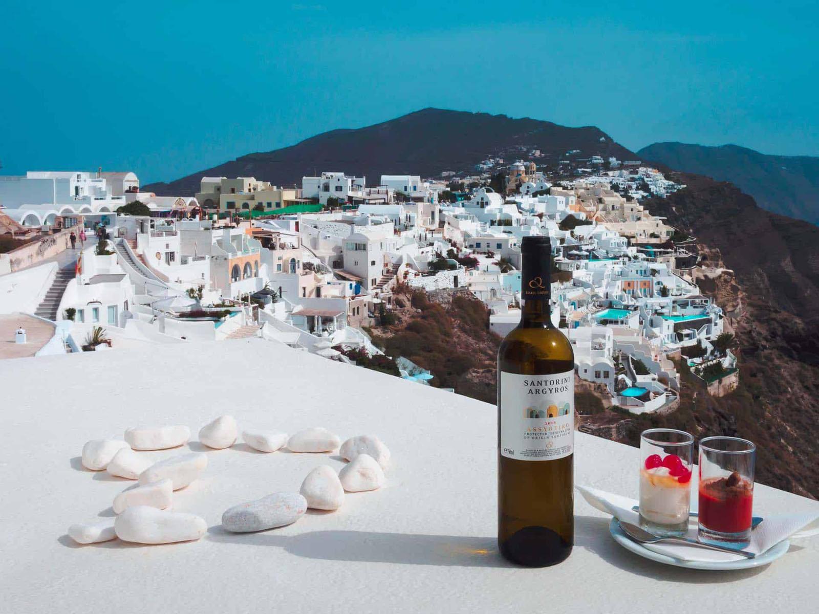 beautiful places in europe santorini greece