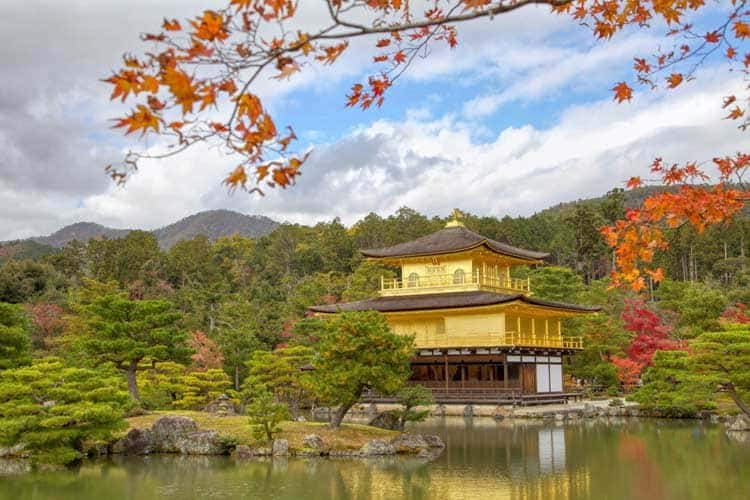 kyoto places to visit Kinkaku ji
