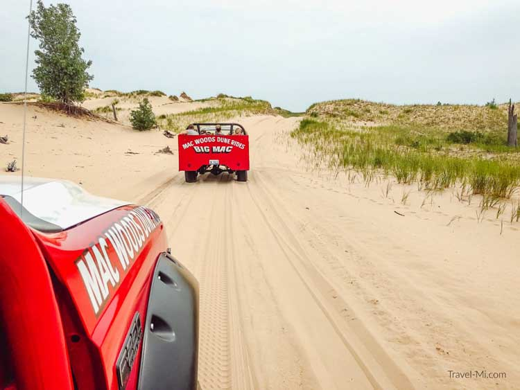 places to visit in michigan | dune rides silver lake