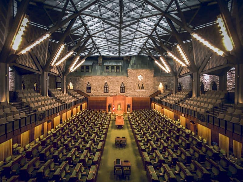 Visit the new House of Commons in Ottawa