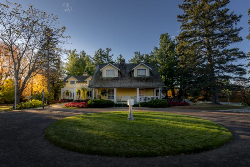 The Mackenzie King Estate in Ottawa