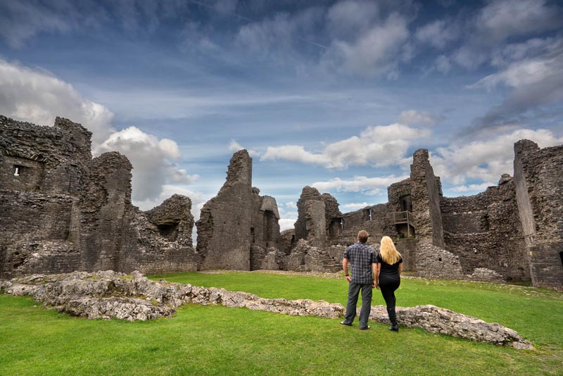 what to see in Wales Carreg Cennen Castle