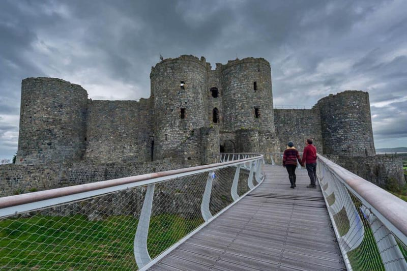 places to visit in Wales Harlech Castle