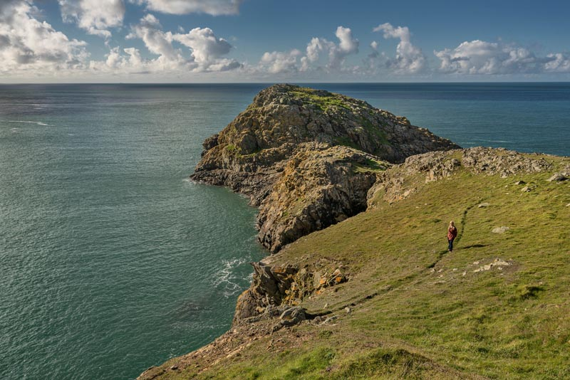 adventurous things to do in Wales Porthgain Coastal Walk