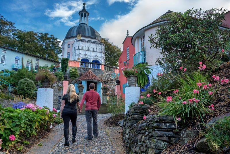 where to visit in Wales Portmeirion