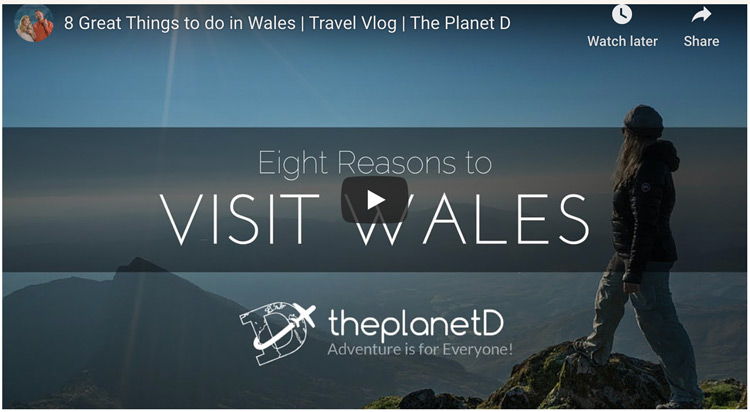 top places to visit in wales video