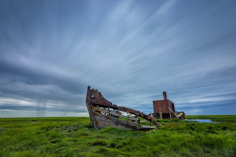 polar bear photos shipwreck