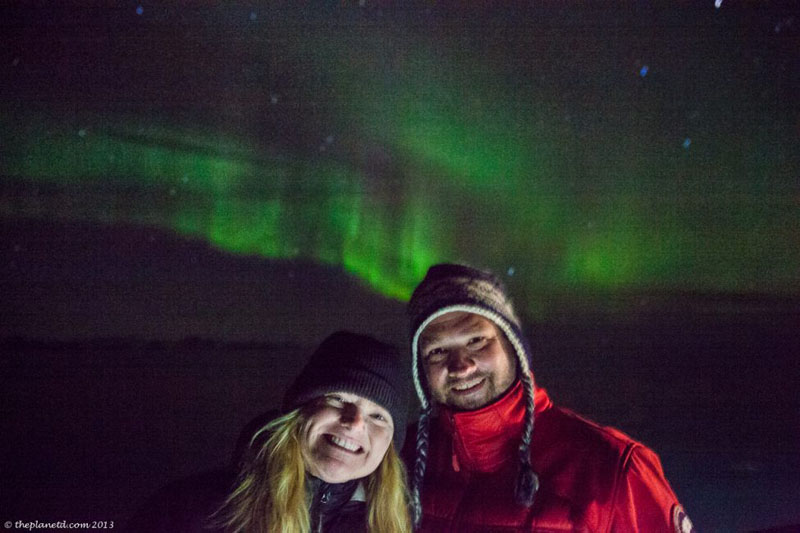 polar expedition northern lights