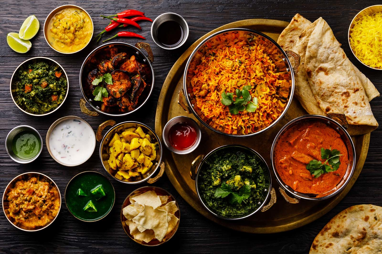 best indian dishes and cuisine