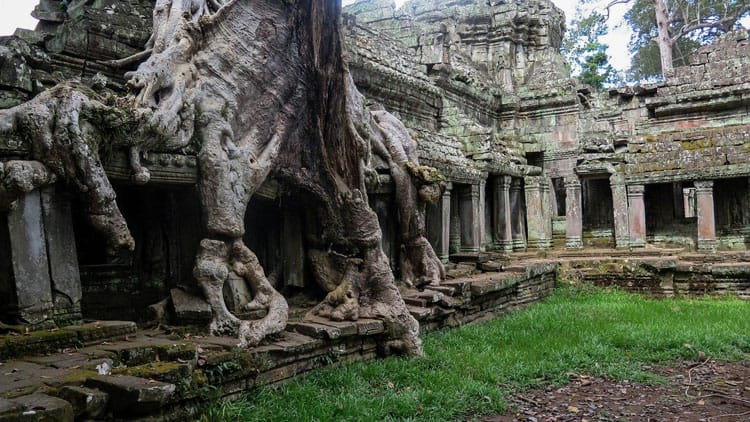preah khan temple angkor archaeological park
