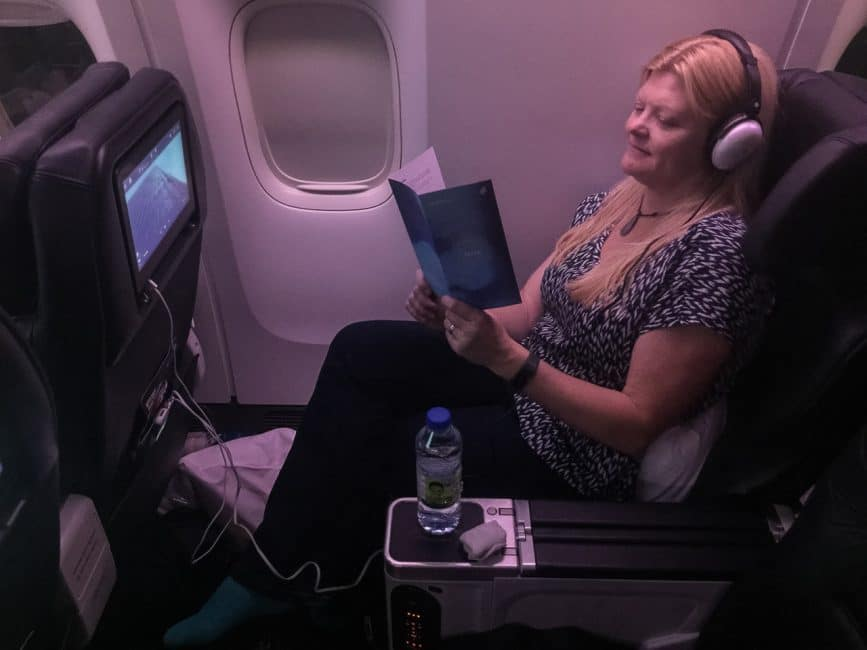 flying premium economy air new zealand