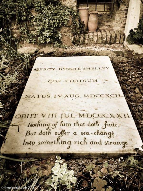 Protestant Cemetery Rome Shelly Tomb
