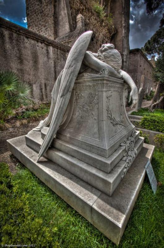 protestant cemetery rome