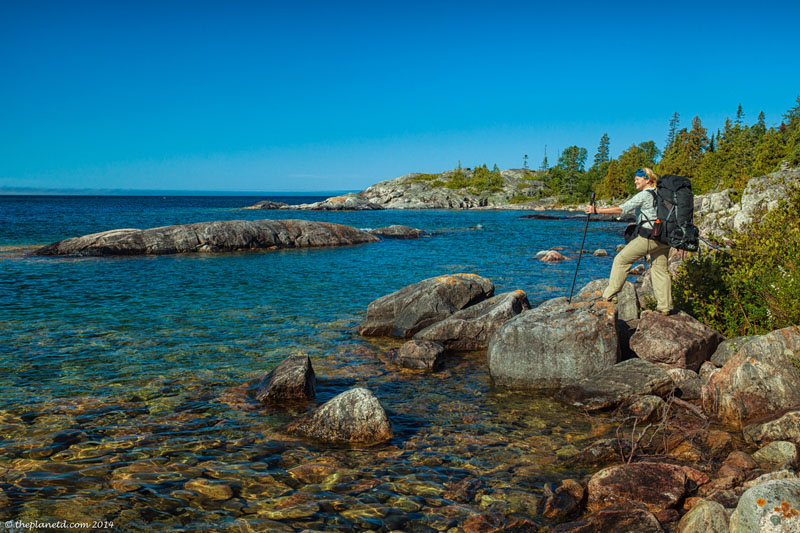 pukaskwa coastal hike tips lake