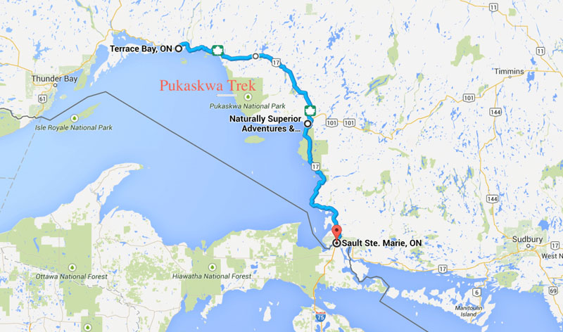 pukaskwa coastal hike tips trail