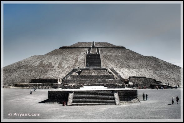 pyramid of the sun Teotihuacan Mexico