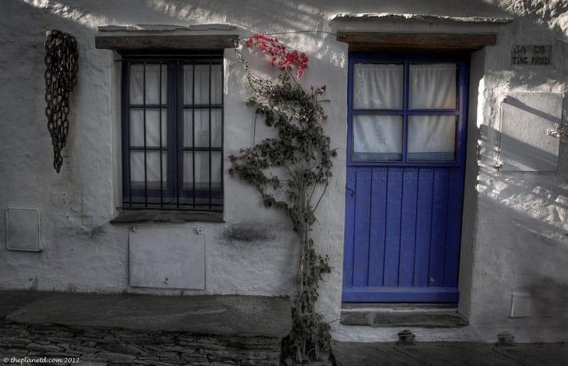 pyrenees photos blue door
