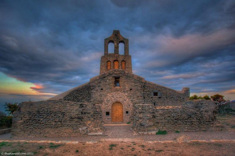 pyrenees photos church