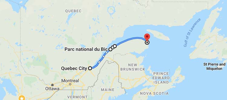 quebec road trips