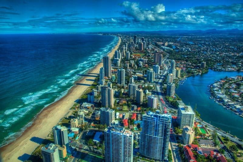 iconic views in australia gold coast