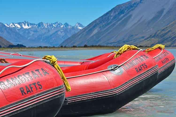 Ragitata Rafting in New Zealand