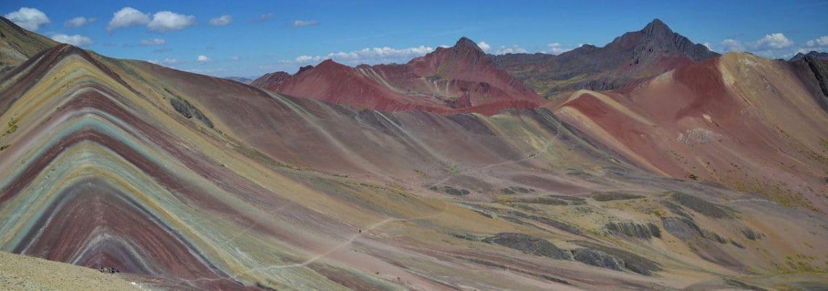 A Rainbow Fell to Earth - Hiking Rainbow Mountain Peru