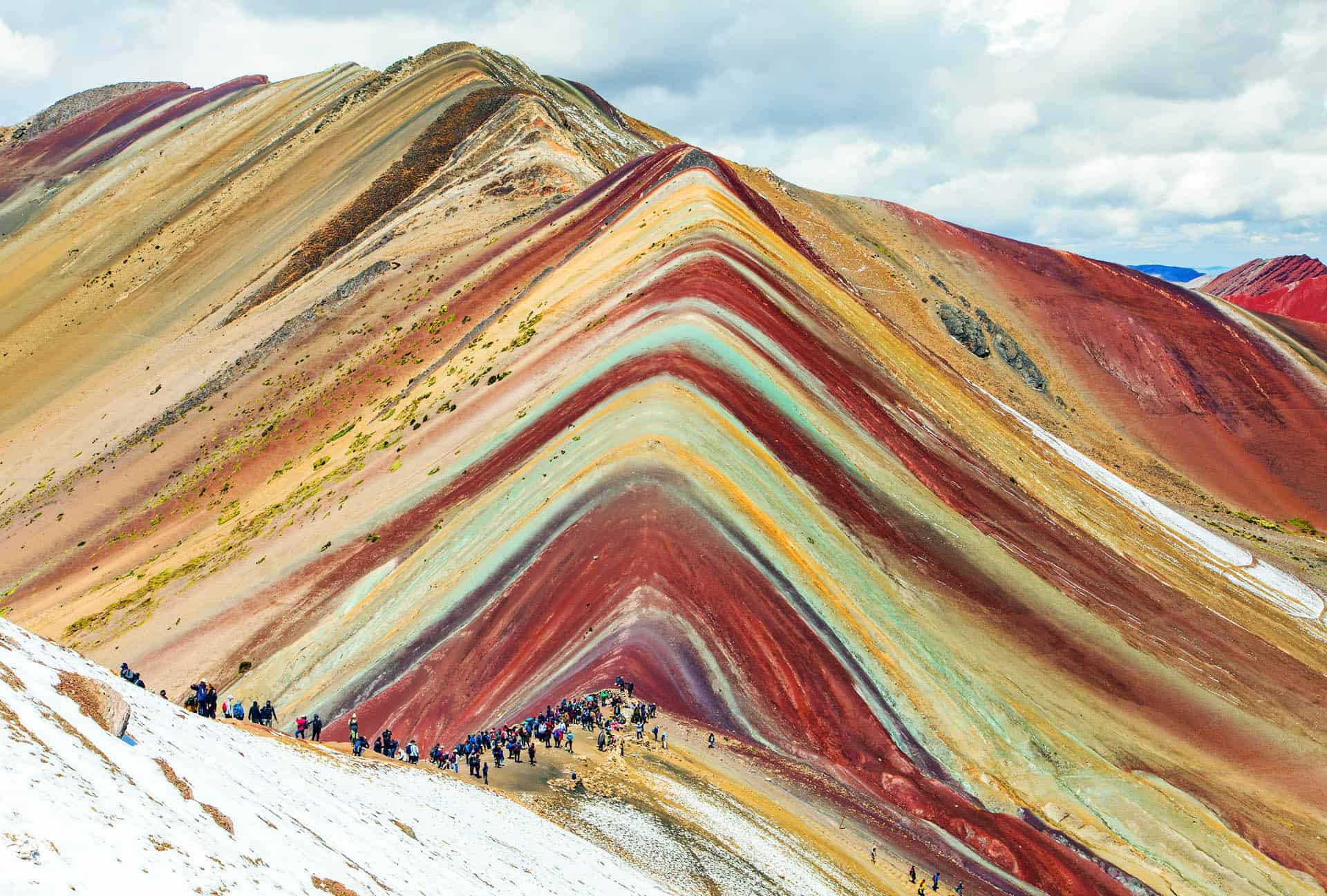 rainbow mountain mountain of seven colors