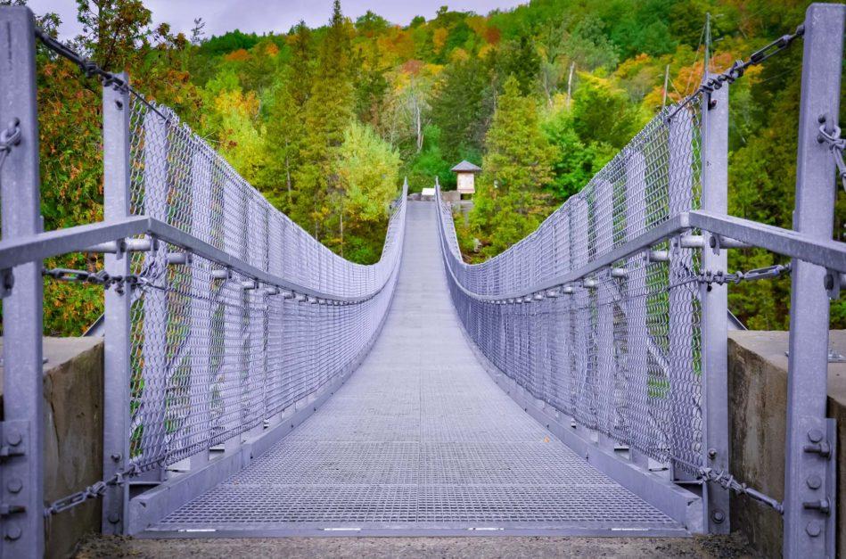 ferris suspension bridge ontario