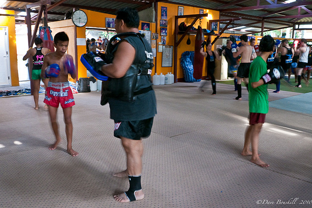 rawai muay thai practice