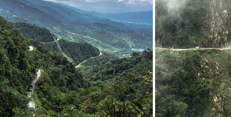 colombia roads