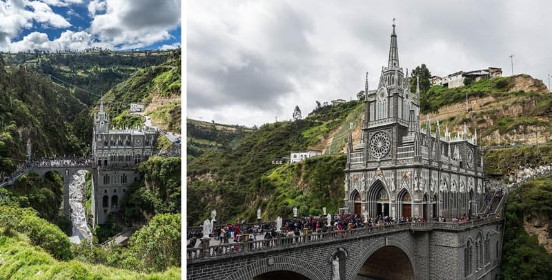 travel colombia gothic church