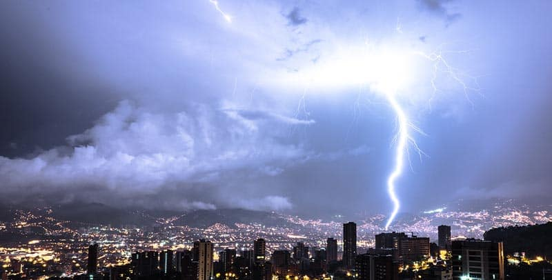 things to do in colombia storm of the gods