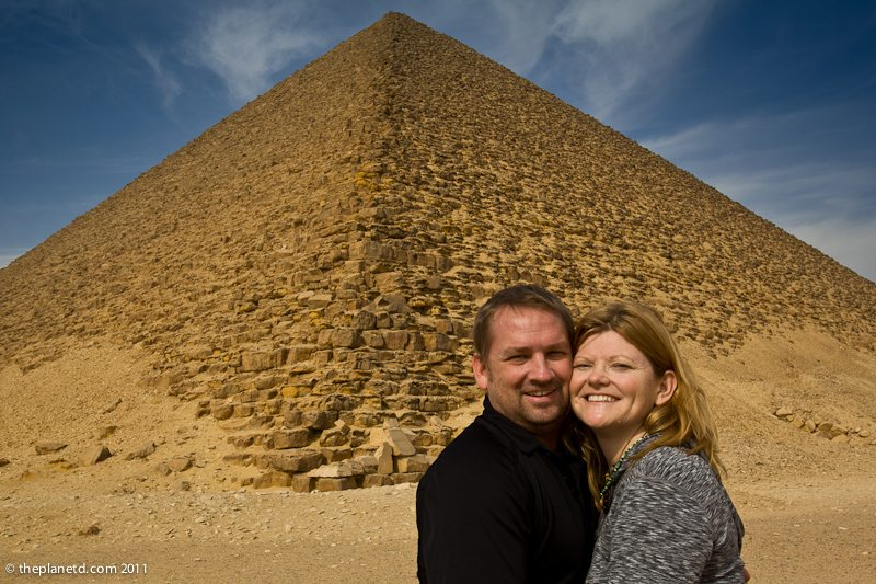 red pyramid egypt dave deb