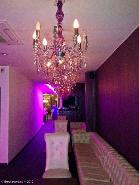 Secret Restaurant in Barcelona - hallway of restaurant