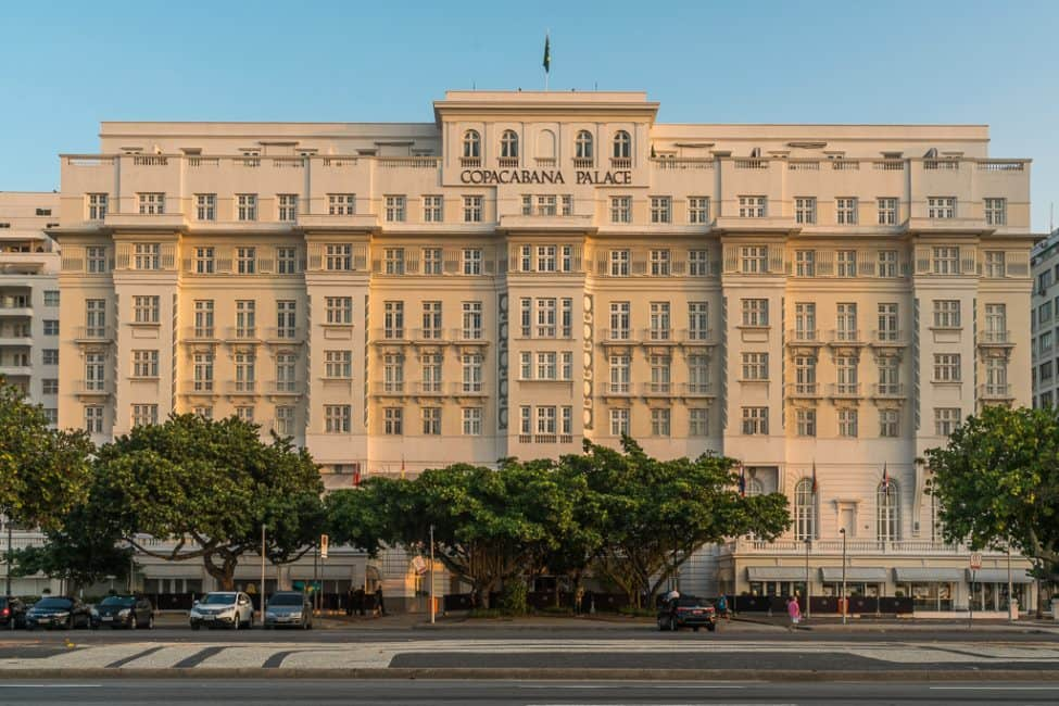 things to do in Rio, Copacabana Palace Hotel