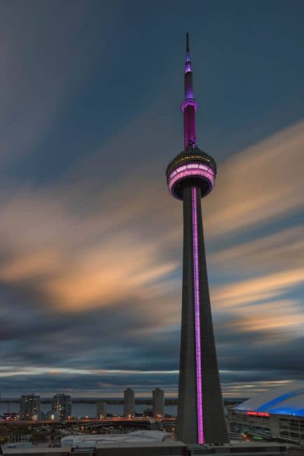 view of CN Tower at Ritz Carlton